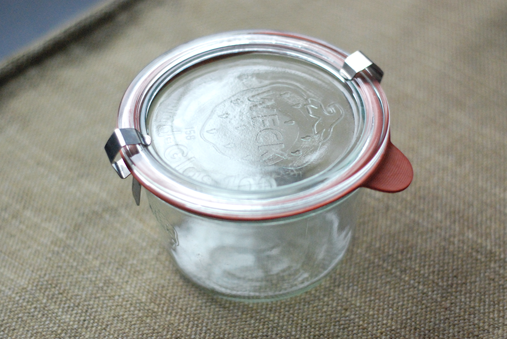 weck jar alone