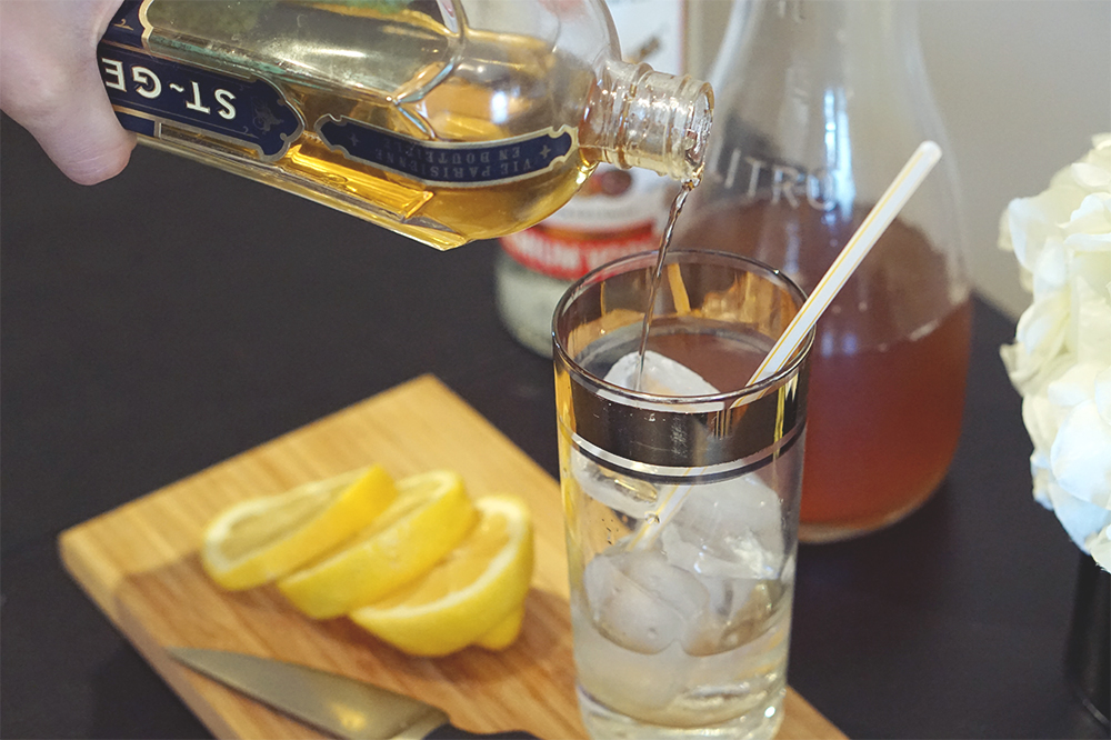 pouring st germain