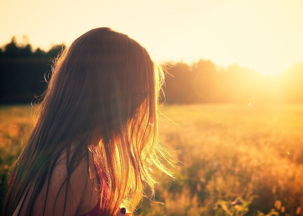 woman sunset resize
