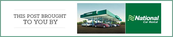 National Car Rental_Sponsor Banner