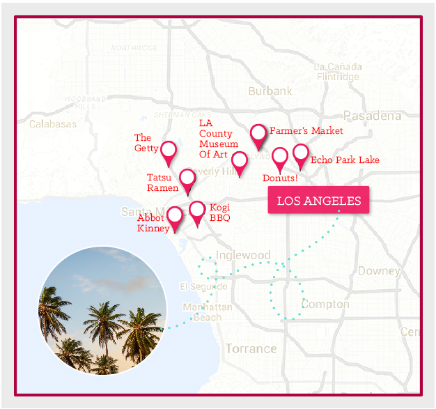 National Car Rental_Los Angeles_Map