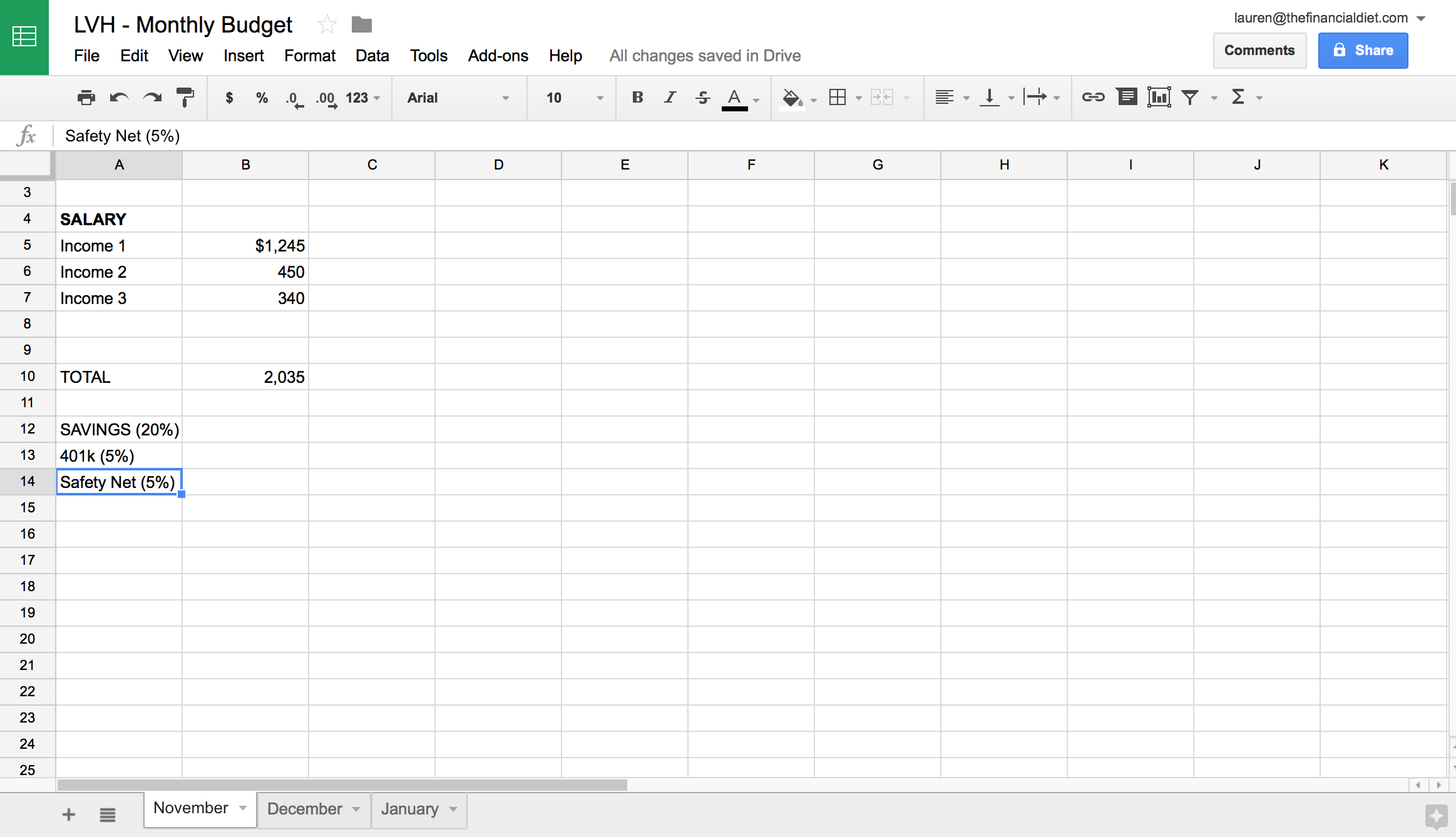 How To Make A Budget Spreadsheet In 10 Easy Steps