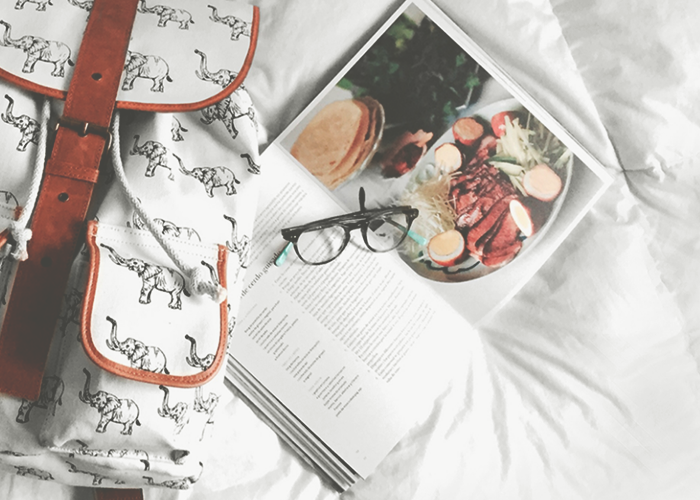 book-on-bed