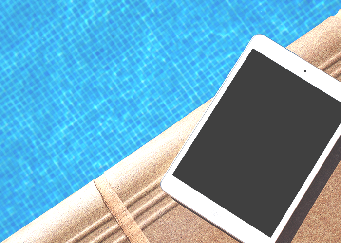 ipad-by-pool
