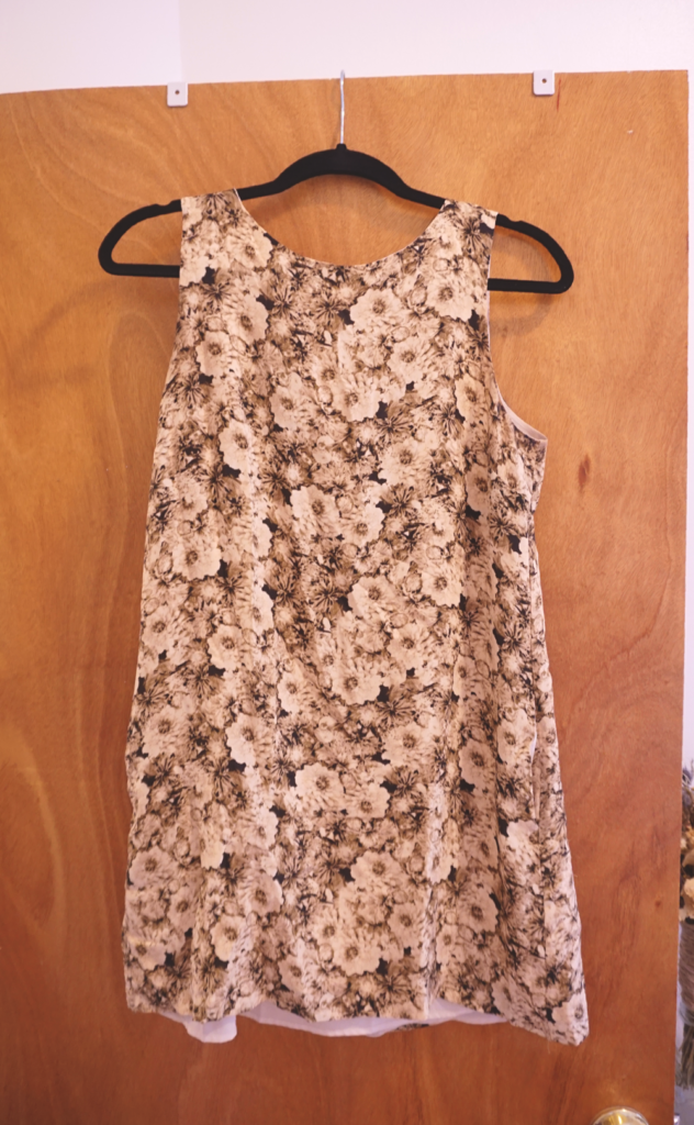 flower-print-dress