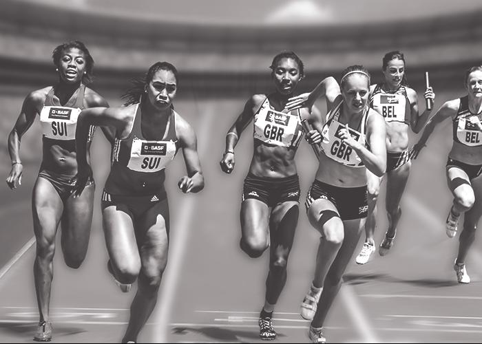 woman-racing