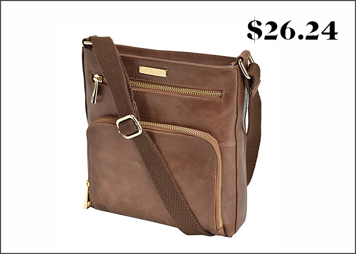 A fun fact about me  I will only buy cross-body handbags. They are the most  convenient and the easiest to keep track of. This one is really beautiful 8e8896fe5e105