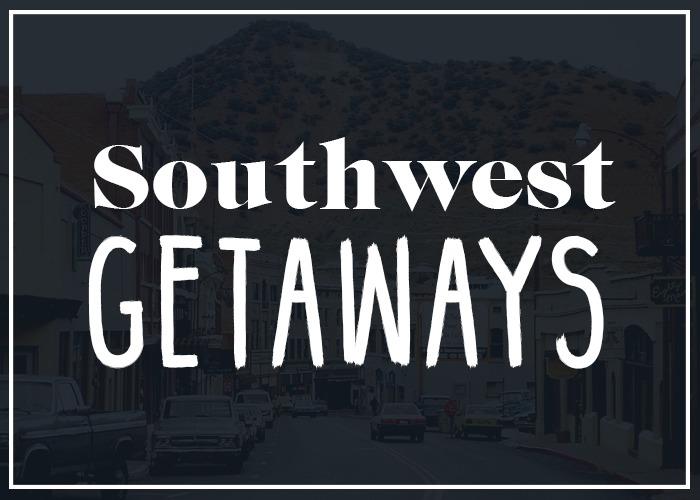 southwest weekend getaways